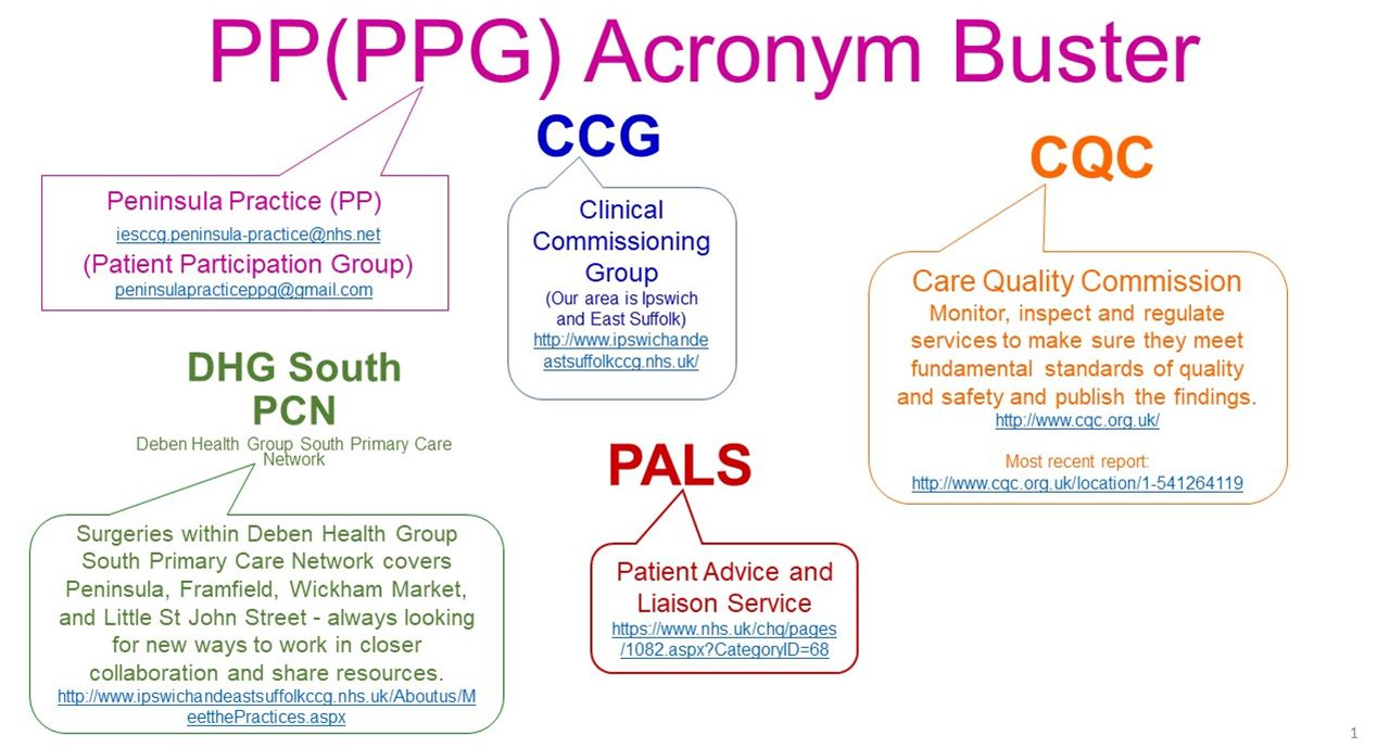 PPG Acronym Buster 1