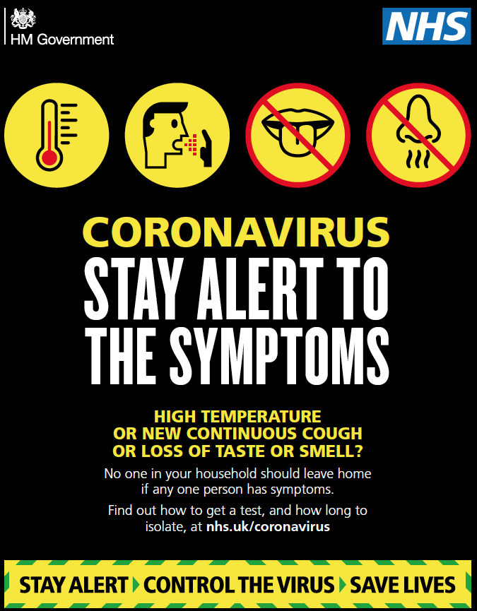 CoronavirusStay Alert to The Symptoms