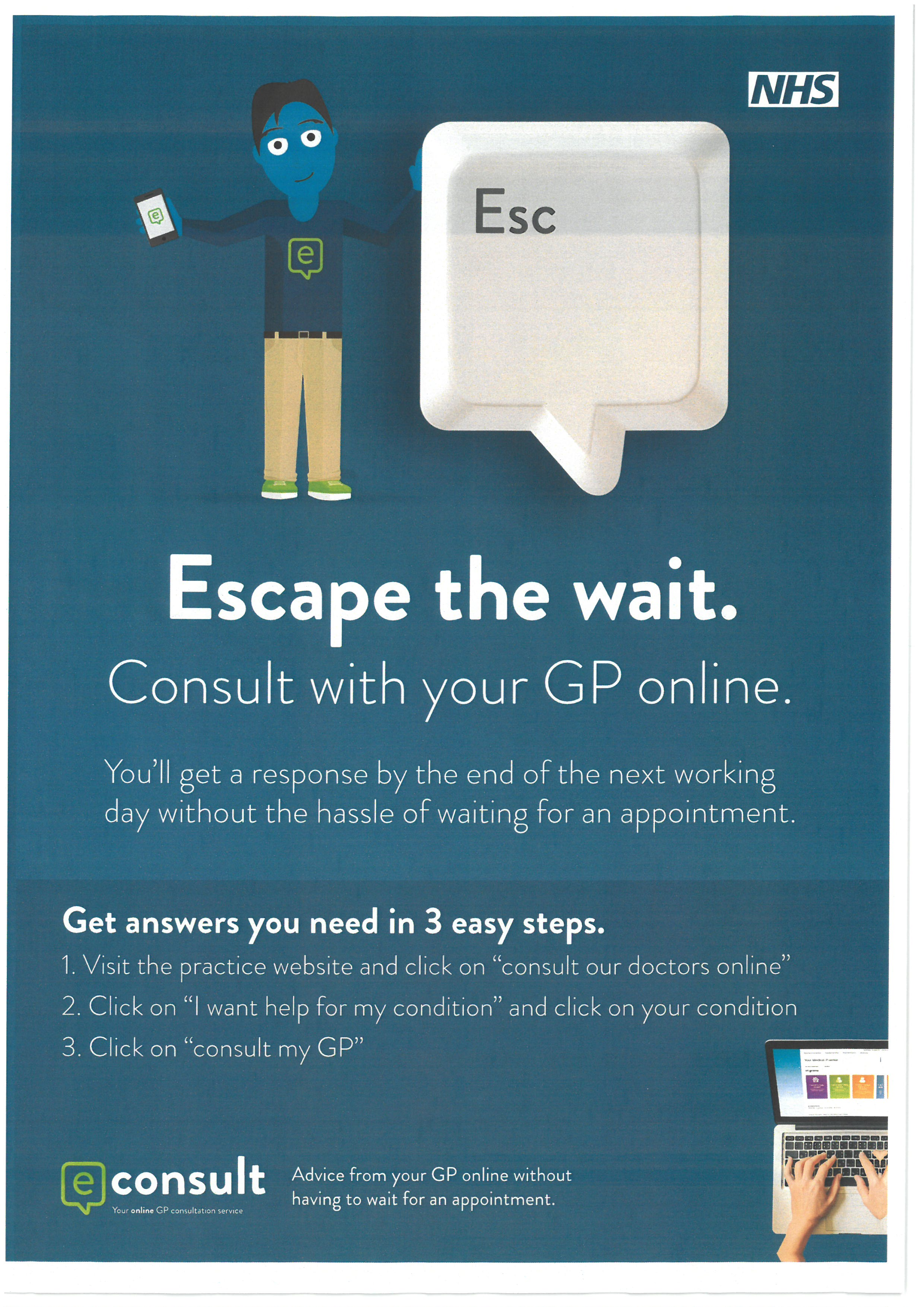 Econsult Escape the Wait